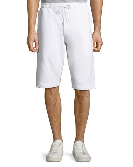 Men's Dart Logo-Tape Sweat Shorts