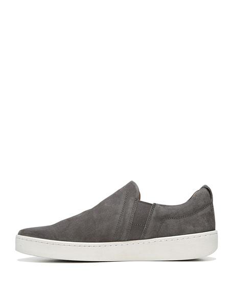 Soren Men's Washed Nubuck Slip-On Sneakers