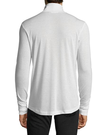 Jersey Turtleneck Sweater