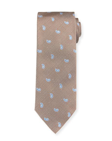 Paisley Neat Silk Tie
