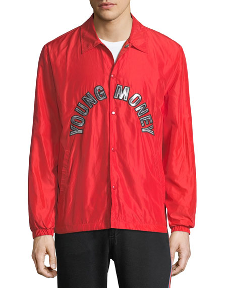 Coaches Snap-Front Jacket