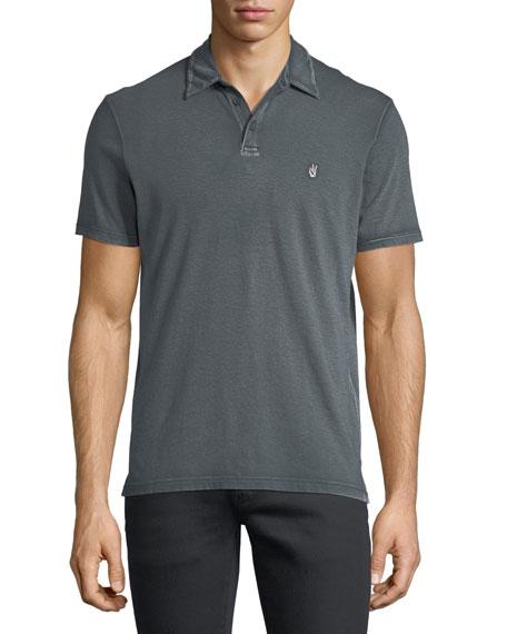 John Varvatos Star USA Short-Sleeve Peace Polo Shirt