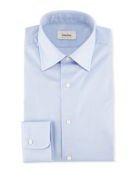 Solid Woven Dress Shirt