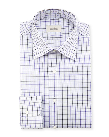 Tattersall Check Dress Shirt