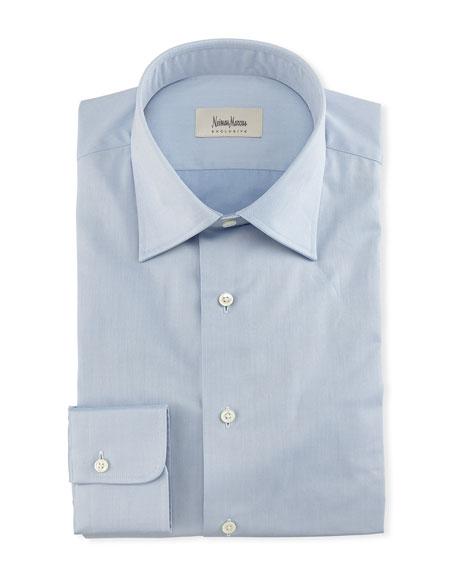 Solid Twill Dress Shirt