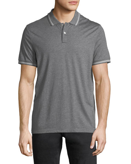 Michael Kors Cotton/Silk Polo Shirt