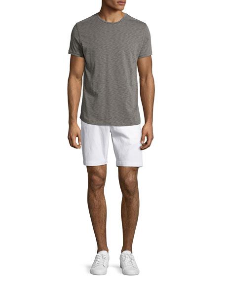 Zaine Witten Stretch-Cotton Shorts