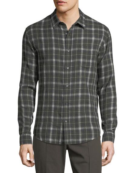 Double-Face Plaid Shirt
