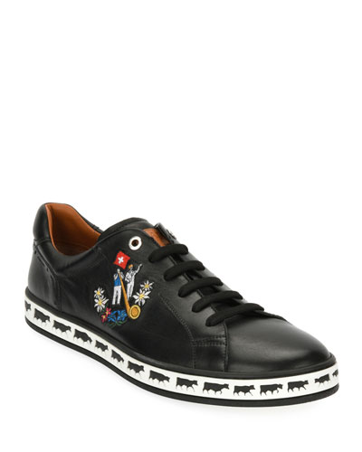 Men's Anistern 10 Leather Low-Top Sneakers
