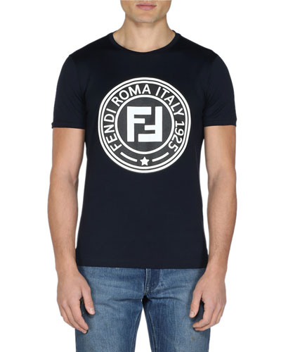 Men's Circle Logo Crewneck T-Shirt