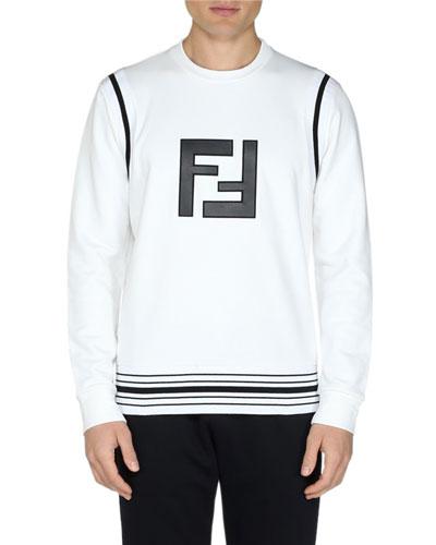 Men's FF Cotton-Blend Sweatshirt