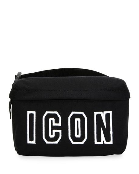 Men's Icon Canvas Belt Bag
