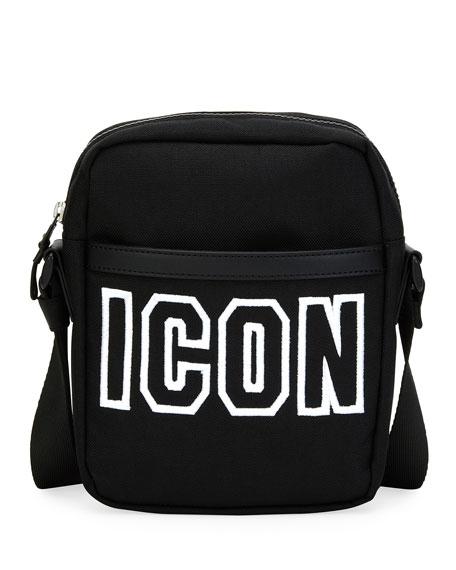 Men's Icon Canvas Crossbody Bag
