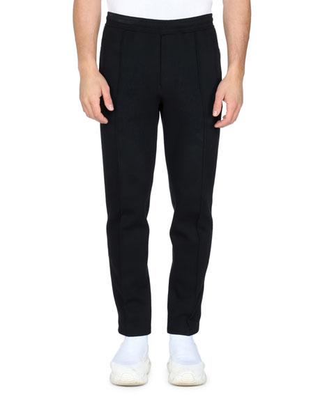 Fendi Men's FF-Tape Zip Track Pants