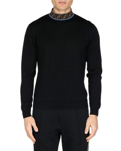 Men's FF Mock-Neck Fleece Sweater
