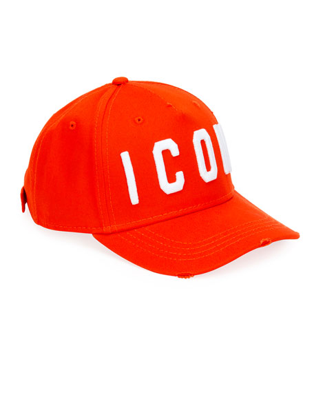 Men's Icon Embroidered Baseball Cap