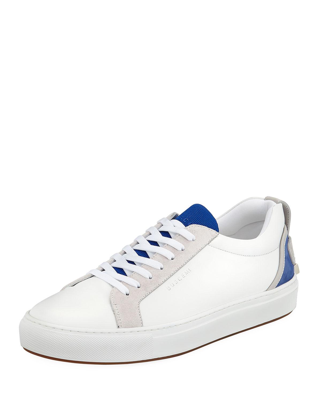 Buscemi Men's Lyndon Leather Leather Lyndon Low-Top Sneakers d6d594