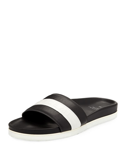 Men's Logo Sport Slide Sandals
