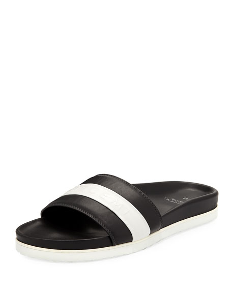 Buscemi Men's Logo Sport Slide Sandals