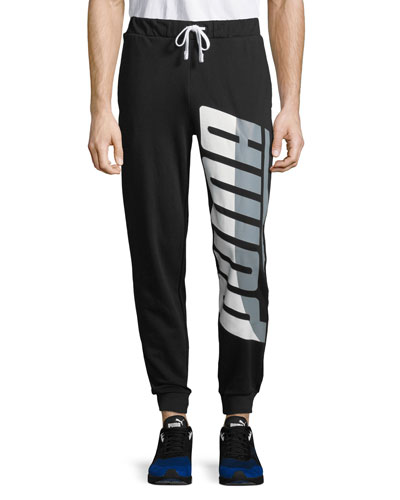 Men's Loud Pack Logo-Graphic Sweatpants