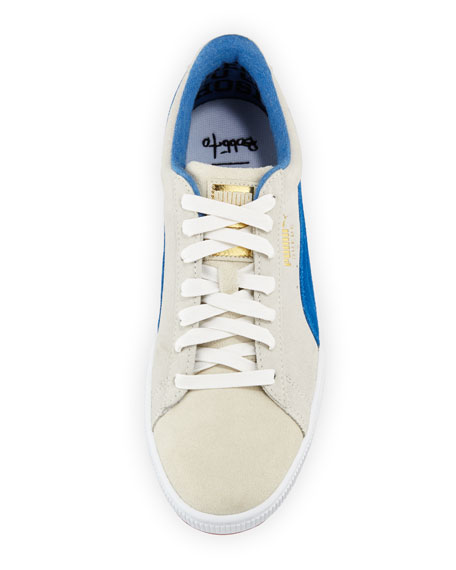 Men's Men's Bobbito 50 Two-Tone Suede Low-Top Sneakers