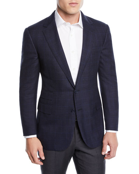Ralph Lauren Men's Two-Tone Wool-Blend Sport Coat