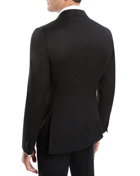 Men's Satin-Lapel Tuxedo Suit