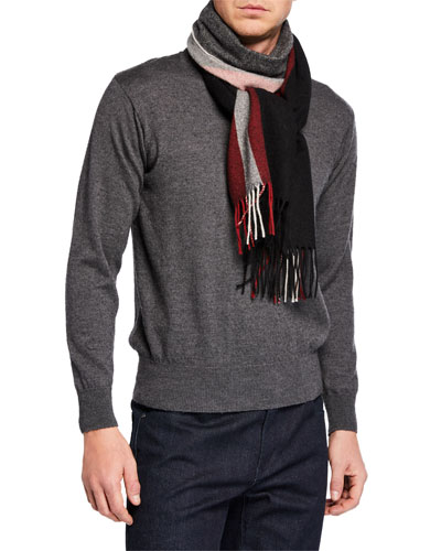 Men's Trainspotting Wool Scarf