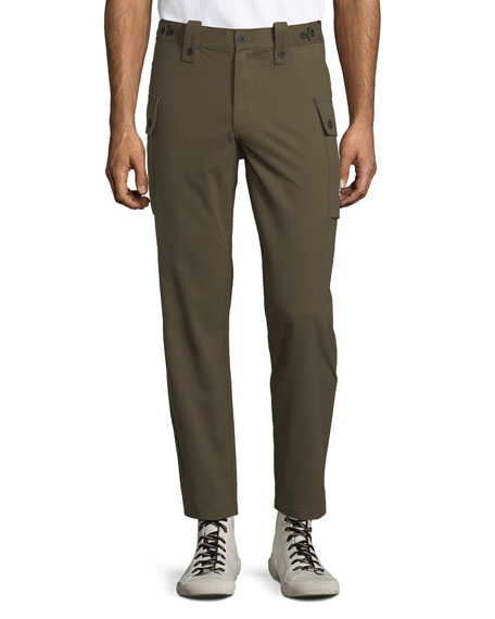 OVADIA & SONS Storm Utility Cargo Pants in Olive