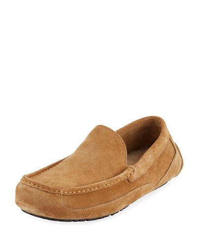 Men's Ascot Pinnacle Stead Suede Slippers