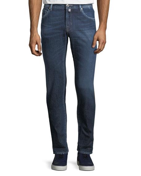 Jacob Cohen Men's Luxe Denim Straight-Leg Jeans