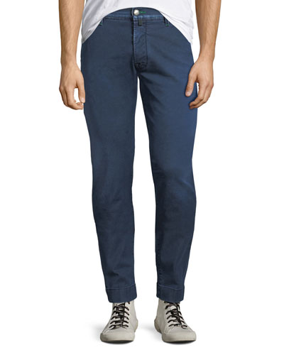 Men's Denim Straight-Leg Jeans