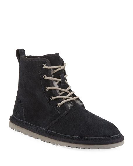 Men'S Harkley Suede Boots, Navy