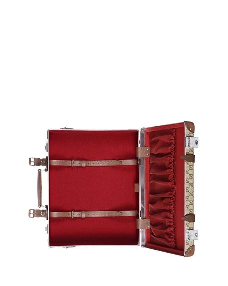 Men's Globe-Trotter GG Canvas Briefcase