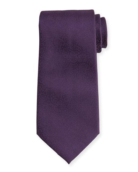 Tonal Paisley Silk Tie