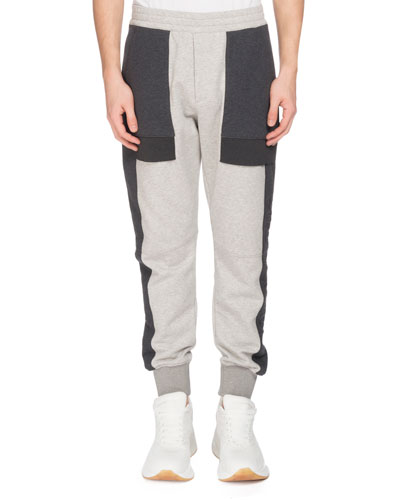 Men's Colorblock Jogger Pants