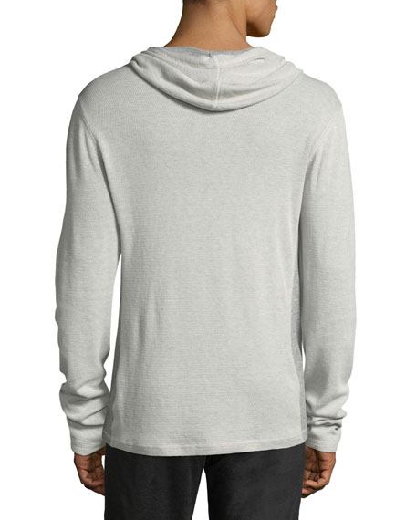 Men's Hooded Thermal Henley