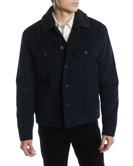 Men's Corduroy Trucker Jacket