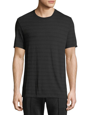 7f59bde0 Vince Men's Tonal-Striped Crewneck Short-Sleeve T-Shirt