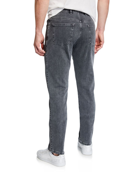 Men's Slim-Fit Straight-Leg Jeans