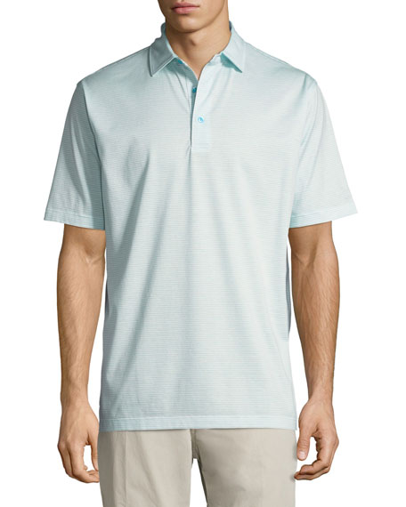 Heritage Striped Nanoluxe Polo Shirt