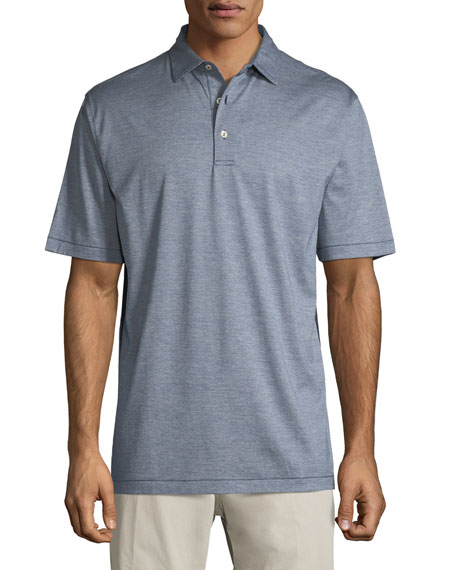 Peter Millar Briarwood Nanoluxe Soft-Knit Polo Shirt