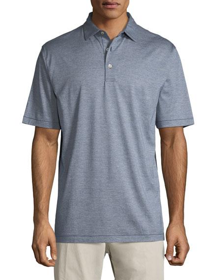 Briarwood Nanoluxe Soft-Knit Polo Shirt