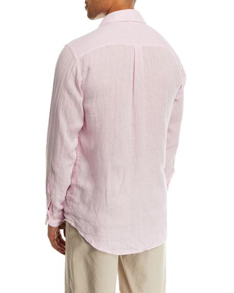 Crown Cool Woven Linen Shirt