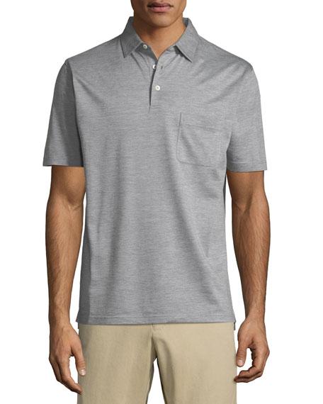 Discovery Silk-Cotton Polo Shirt