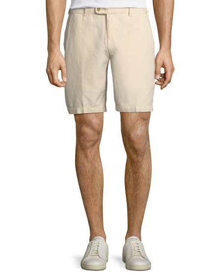 Seaside Cotton-Blend Shorts