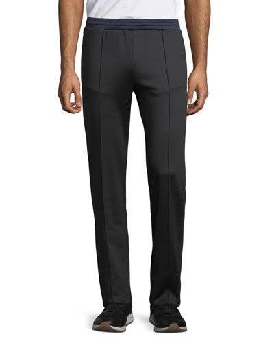 Men's Contrast-Trim Track Pants