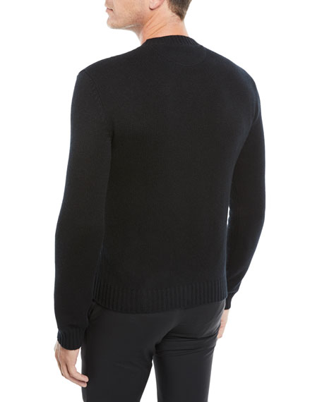 Men's Crewneck Cashmere Pullover Sweater