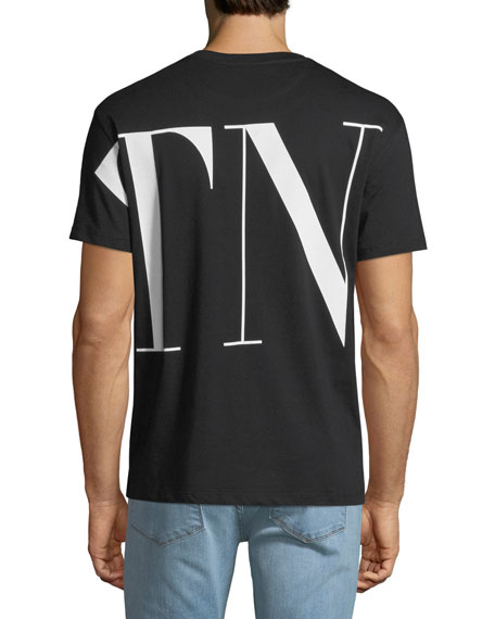 Men's VLTN  Logo-Print T-Shirt