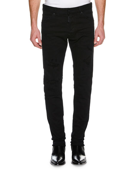 Dsquared2 Men's Cool Guy Distressed Slim-Fit Jeans